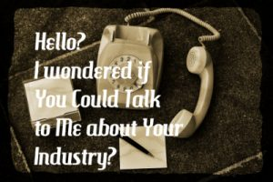 Talk To Someone in the Industry You Want a Job in.